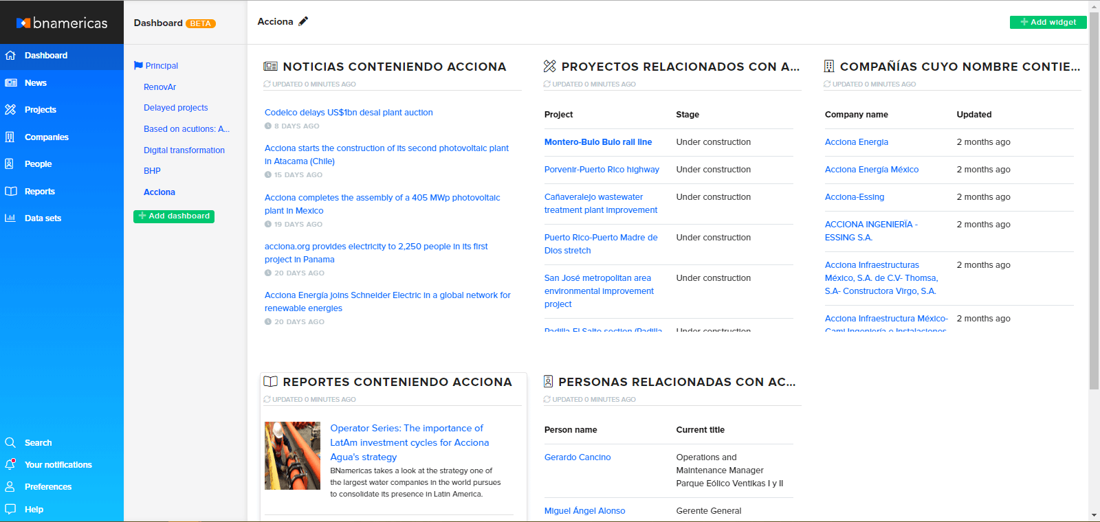 Contractors topic pages