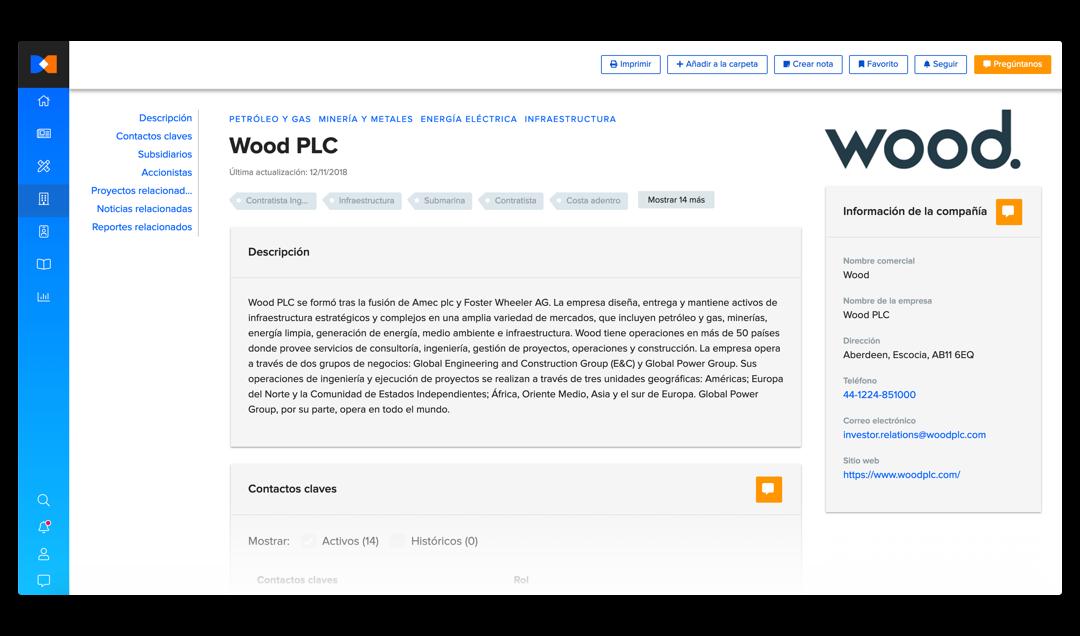 Bnamericas company profiles